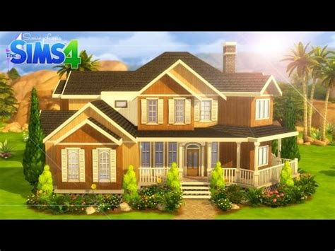 "The Sims 4: House Building   ""Clarity""   YouTube"
