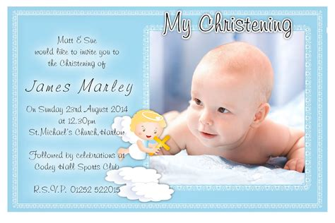 boy christening invitations template free christening invitation template baptism