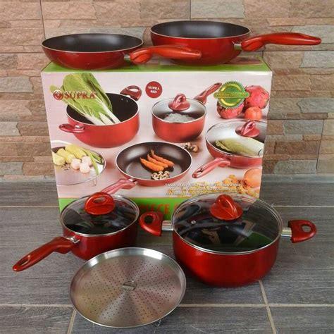 Dijamin Cookware Set Panci Set Recomended parcel lebaran murah panci supra set 7 pcs rosemary