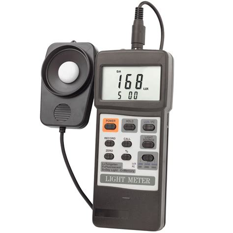 what is a light meter dual display traceable light meter