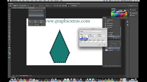 tutorial photoshop cc 2014 youtube photoshop cc 2014 dotted strokes and custom shape edges