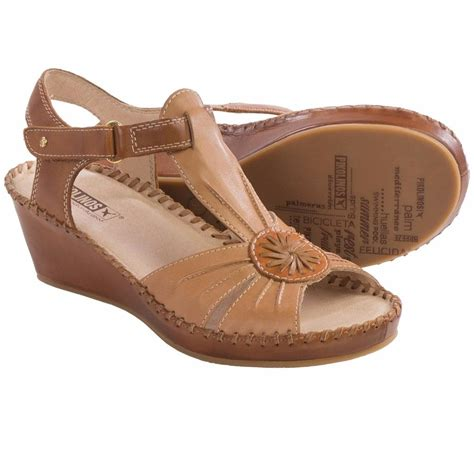 pikolino sandals pikolinos margarita sandals leather wedge heel new