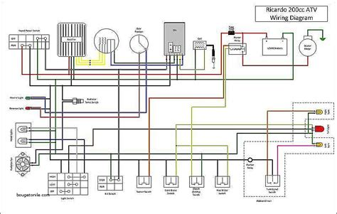 110 atv wiring diagram wiring diagram with description