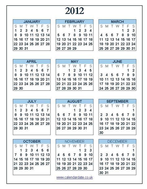 calendars part 2