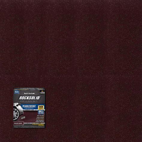Rust Oleum RockSolid 76 oz. Mocha Polycuramine 1 Car