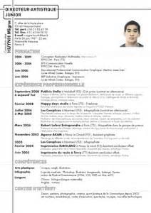 resume format pr 233 sentation cv langues