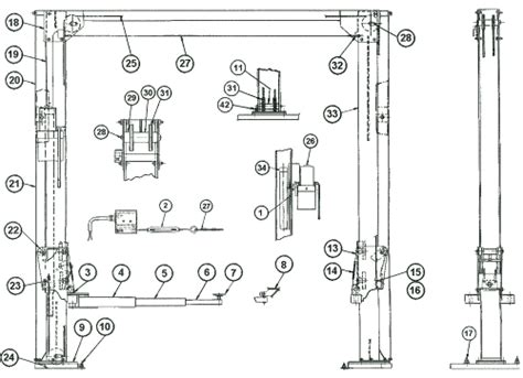 car lifts wiring diagram forward car wiring diagrams and