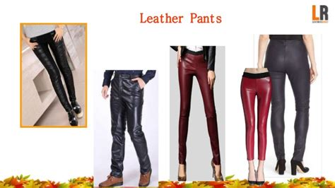 Leather Collection 6 fall leather collection