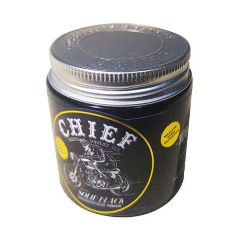 Chief Pomade Solid Black jual rekomendasi seller chief pomade water based minyak