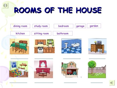 rooms in the house welcome to my house