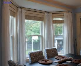 Window Treatments For A Bow Window bay window treatments