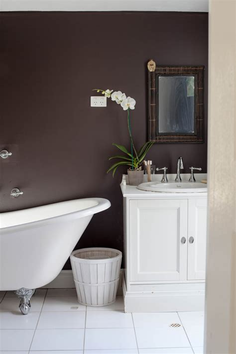 brown bathroom walls sneak peek best of bathrooms design sponge