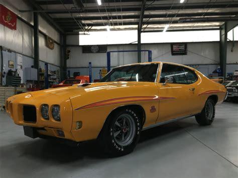1970 pontiac gto real 242 gto true american muscle