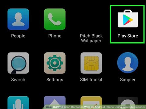 Play Store Qr Code Scanner How To Scan Barcodes With An Android Phone Using Barcode