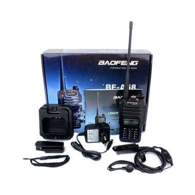Sale Radio Walkie Handy Talky Ht Baofeng Dual Band Uhf Vhf Uv 5r jual baofeng pofung uhf vhf a58 dual band waterproof radio