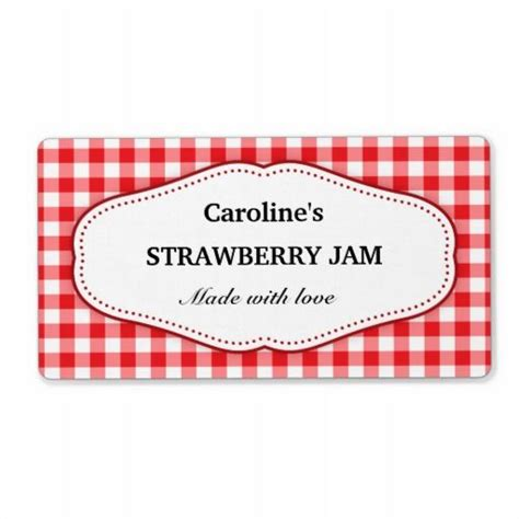 printable gingham labels stylish red and white gingham canning jar labels canning