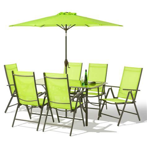 8 santorini garden patio set 100 aluminium non