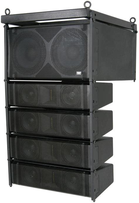 Speaker Line Array citronic 300 active line array speaker system 300w 300w pair astounded