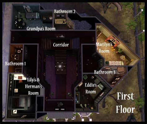 floor plan munsters house 1313 mockingbird lane 17 best ideas about munsters house on pinterest munster