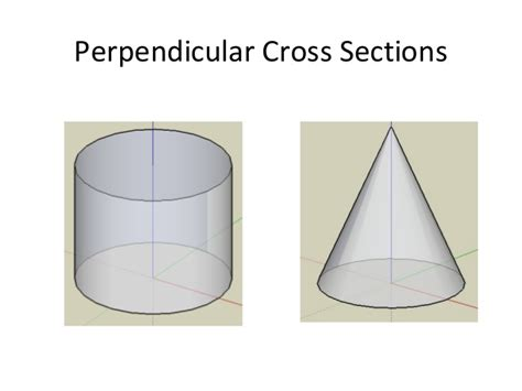 vertical cross section of a cone cross sections of 3 d figures
