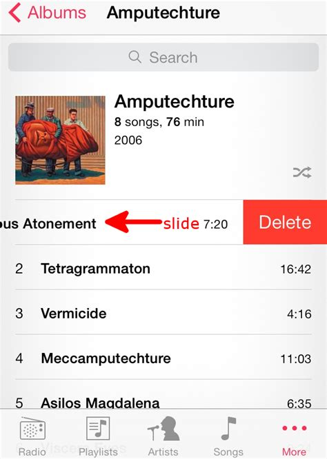 how to delete a song from iphone how to delete from the iphone appledystopia