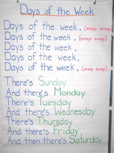 week song best 25 preschool songs ideas on songs for
