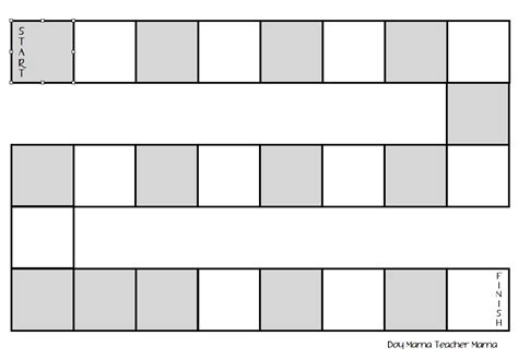 printable board template 9 best images of board printable template