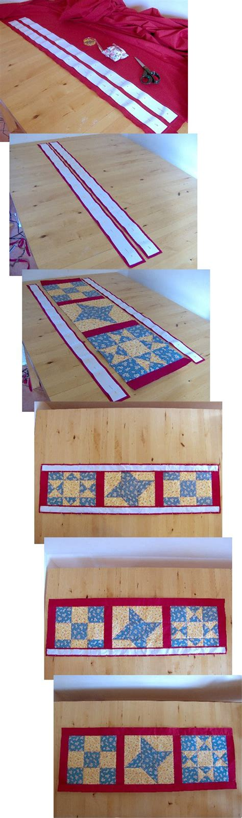 Where Did Patchwork Originate From - how to make a table runner sewing a reversible table