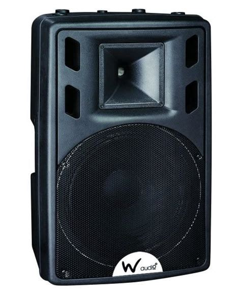 W Audio Active Speakers by W Audio Psr15a 400wrms Active Speaker Djkit