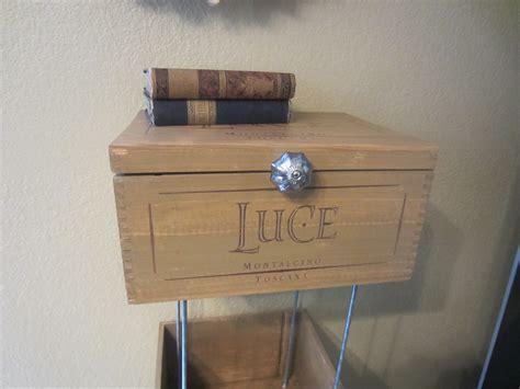 wine crate shelves diy inspired
