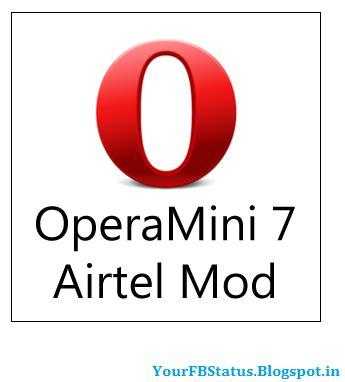 fb opera mini opera mini trick for airtel