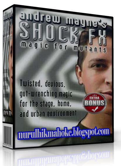 Sulap Rise By Dvd Sulap vcd sulap andrew maynes shock fx master ilmu pelet dan