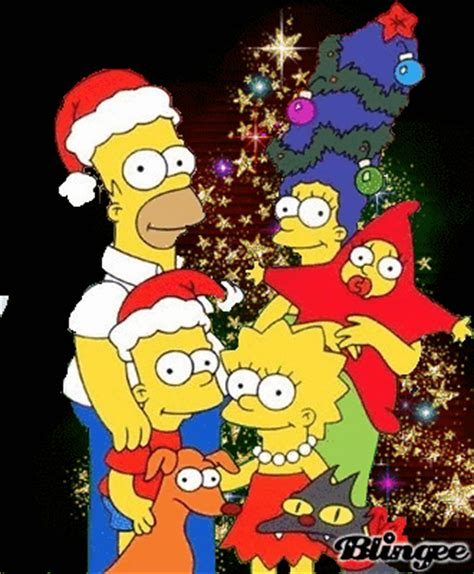 imagenes navidad de los simpson los simpsons te desean una feliz navidad imagenes y carteles