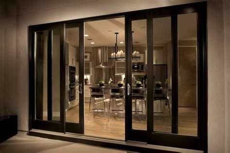 Fiberglass Sliding Patio Door Patio Doors Sliding Modern Home Exteriors