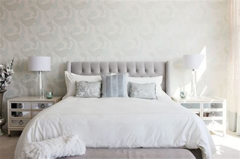 modern glam bedroom modern glam luxury condo transitional bedroom other
