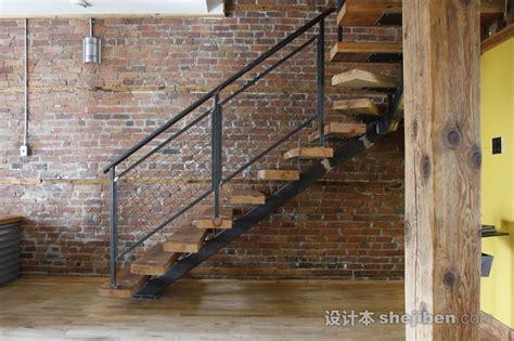 Modern Banisters And Handrails 2016工业风格楼梯装修效果图 设计本装修效果图