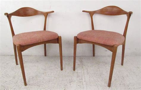 scandinavian masters classic danish designer horn dining danish modern cow horn style dining chairs for sale at 1stdibs