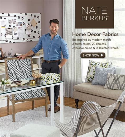 nate berkus design and home decor sewing jo ann fabric and craft store nate berkus home decor