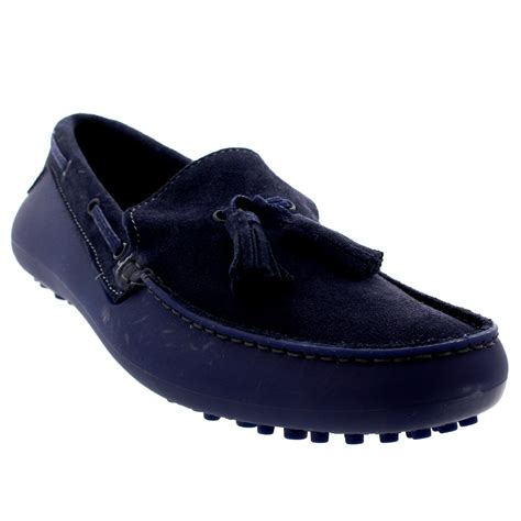 mens suede loafers mens h by hudson florio ii slip on moccasins tassel suede