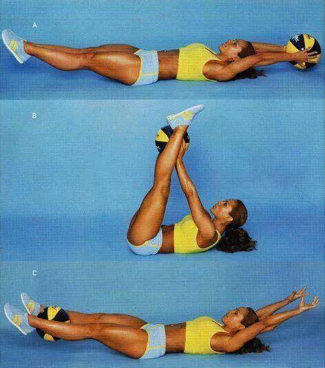 ab workout  medicine ball  pinterest