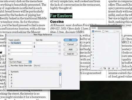 creating indesign index create a simple index in indesign creative bloq