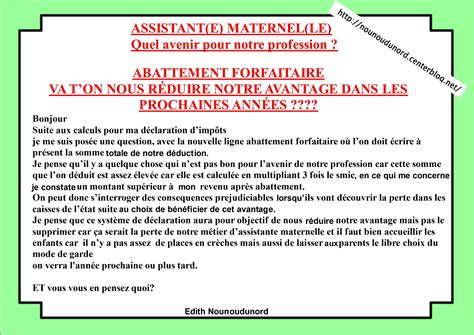 Modele Annonce Assistant Maternelle