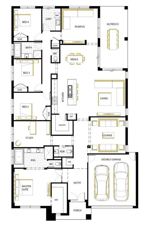 plano de casa de un piso 005jpg casa de un piso moderna dos fachadas y dise 241 o interior