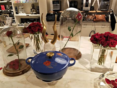 be our guest le creuset beauty and the beast inspired festivities at williams