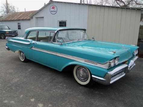 Monterey Craigslist Garage Sale by 1958 Mercury Monterey Sedan 2 Door Post Car