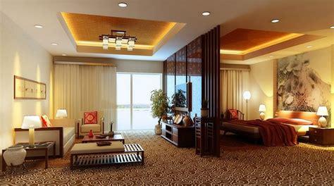 fully carpeted master bedroom cum living room  model max