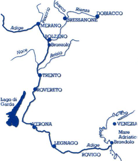 fiume bagna verona il fiume adige