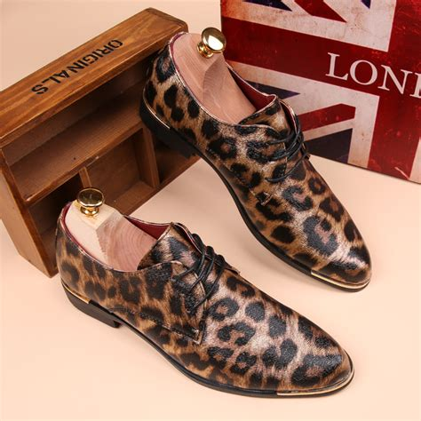 animal print oxford shoes new arrival oxfords leopard print flat casual shoes