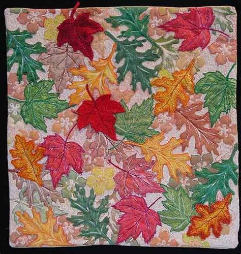 quilt leaf fall quilt that