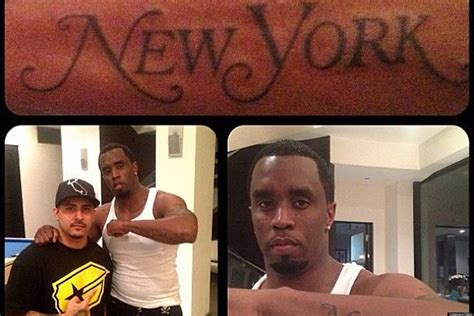 queer tattoo nyc diddy s new tattoo leaves no doubt that he loves new york